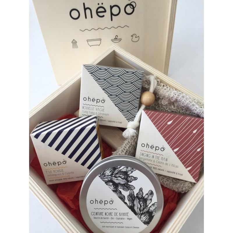 OHEBOX n°2 coffret cadeau garni en bois naturel