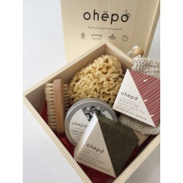 OHEBOX n°3 coffret cadeau garnie* en bois naturel