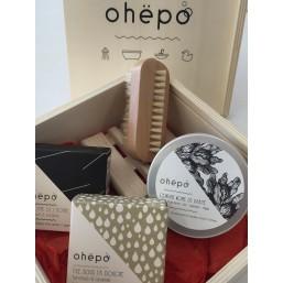 OHEBOX n°1 coffret cadeau garni en bois naturel