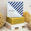 savon bio carré jaune déco à l'huile essentielle citron